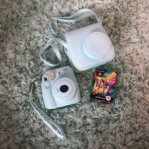 Like New Instax Camera, Case, and Film